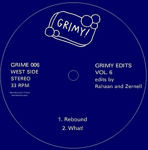 Various/GRIMY EDITS VOL. 6  12""