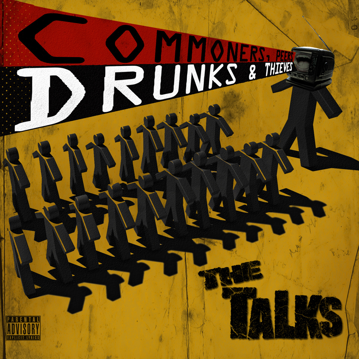 Talks, The/COMMONERS, PEERS, DRUNKS LP