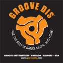 Groove Dis/BLACK T-SHIRT (DESIGN B)
