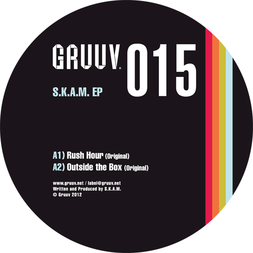 S.K.A.M./RUSH HOUR EP - AUDIOJACK 12""