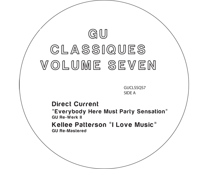 "Glenn Underground/CLASSIQUES VOL. 7 12"""