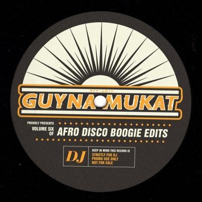 "Afro Disco Boogie Edits/EP VOLUME 6 12"""