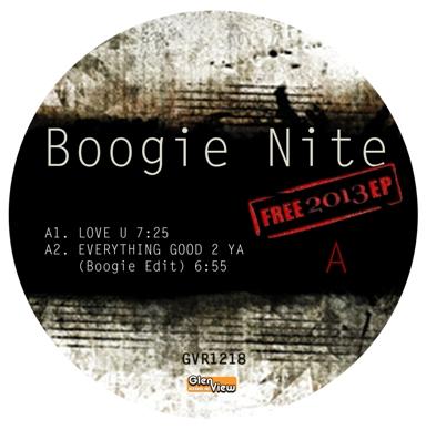 "Boogie Nite/FREE 2013 EP 12"""
