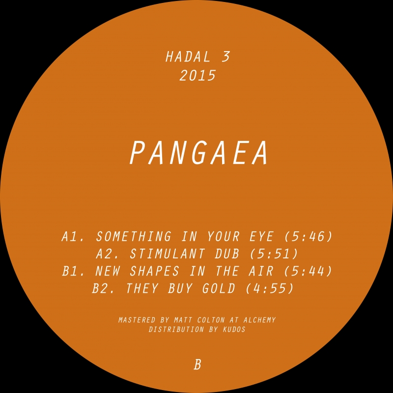 Pangaea/NEW SHAPES IN THE AIR EP 12""