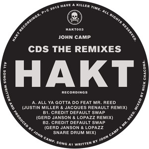 John Camp/CDS THE REMIXES 12""