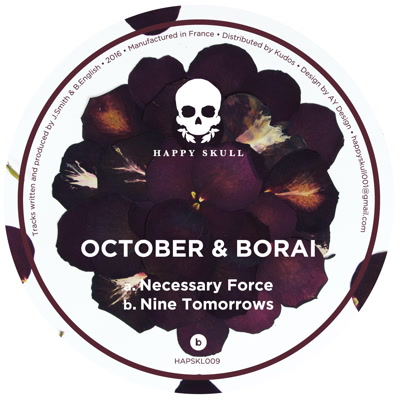 October & Borai/NECESSARY FORCE 12""