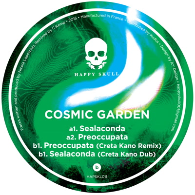 Cosmic Garden/SEALACONDA EP 12""