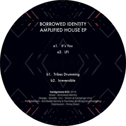 Borrowed Identity/AMPLIFIED HOUSE EP 12""