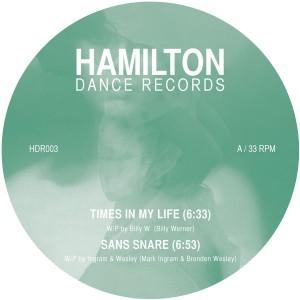"Various/HAMILTON DANCE 003 12"""