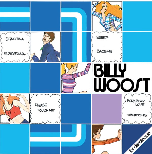 Billy Woost/BILLY WOOST LP