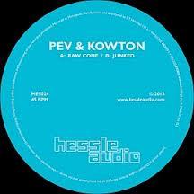 "Pev & Kowton/RAW CODE 12"""