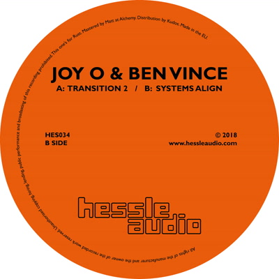 Joy O & Ben Vince/TRANSITION 2 12""