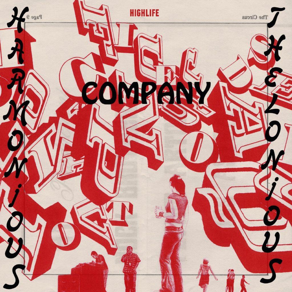 "Harmonious Thelonious/COMPANY EP 12"""