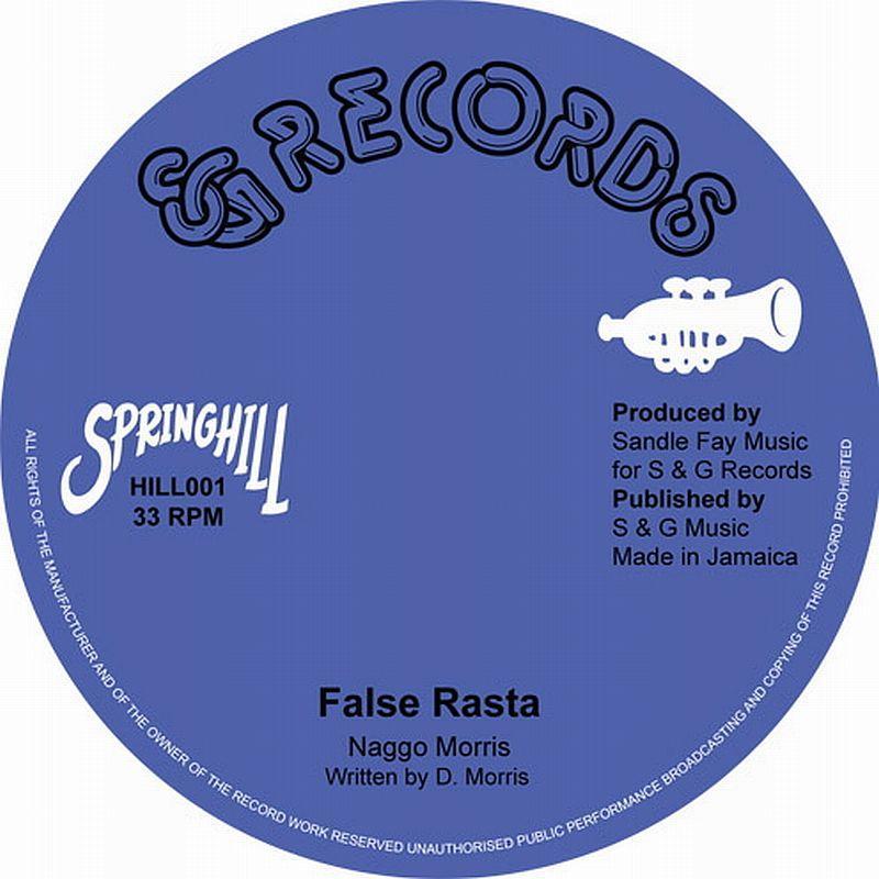 """Naggo Morris/FALSE RASTA 10"""""""