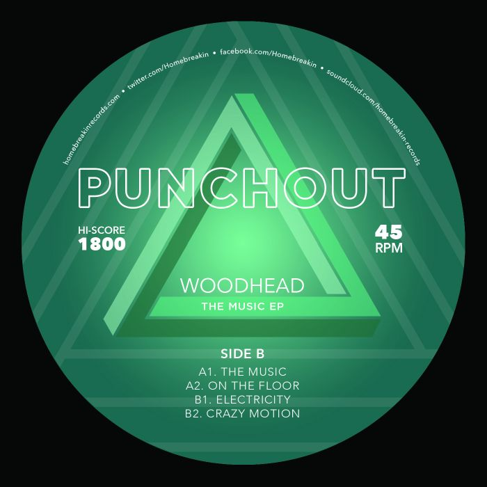 Woodhead/THE MUSIC EP 12""