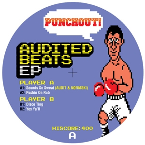 Audit/AUDITED BEATS EP (PUNCHOUT #4) 12""