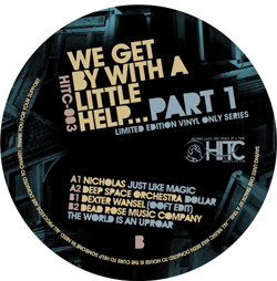 Various/WE GET BY WITH A LITTLE HELP 12""