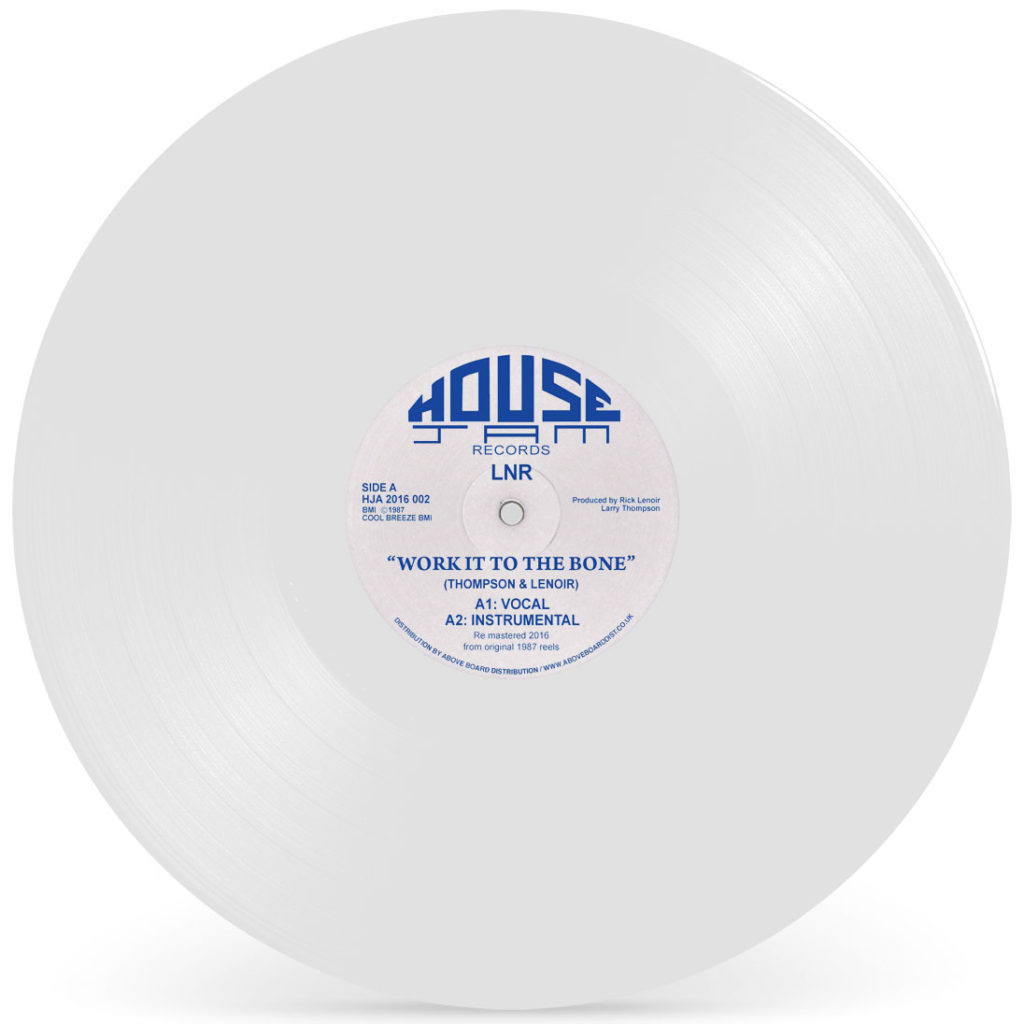 LNR/WORK IT TO THE BONE (WHITE) 12""