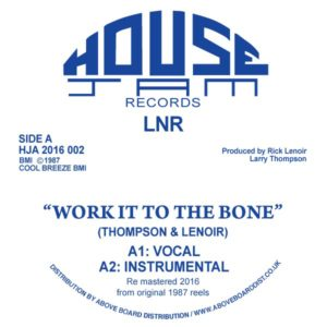 LNR/WORK IT TO THE BONE 12""