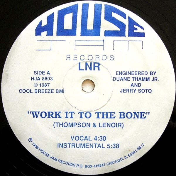 LNR/WORK IT TO THE BONE (REISSUE) 12""