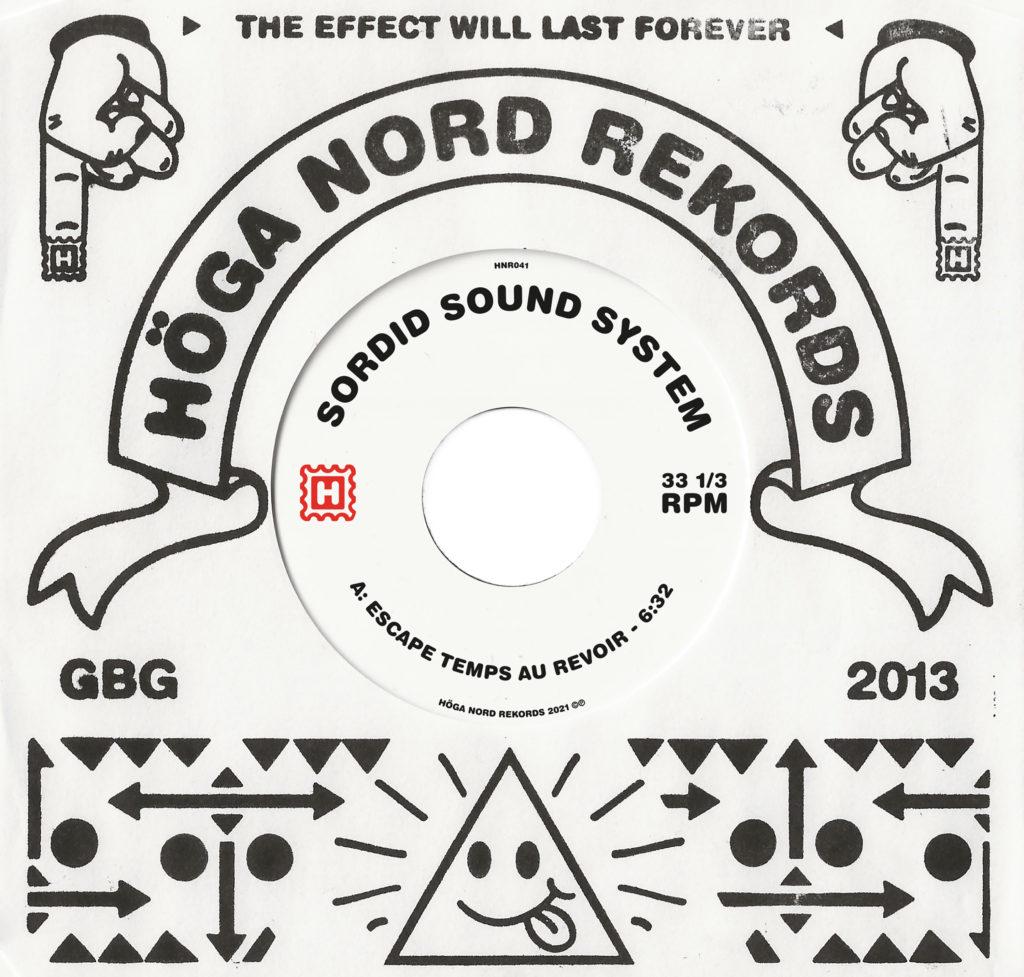 "Sordid Sound System/ESCAPE... 7"""