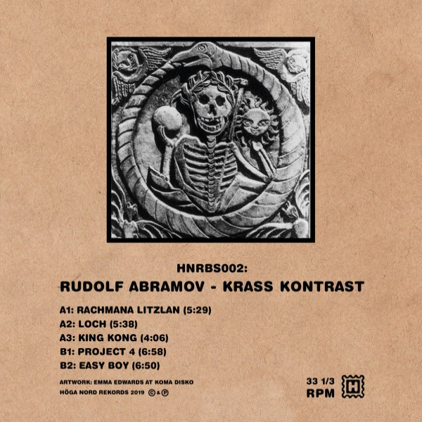 "Rudolf Abramov/KRASS KONTRAST EP 12"""