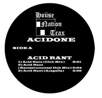 Acidone/ACID RANT 12""