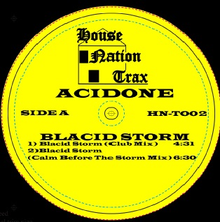 Acidone/BLACID STORM 12""