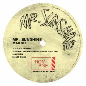"""Mr. Sunshine/MAX SPF EP 12"""""""