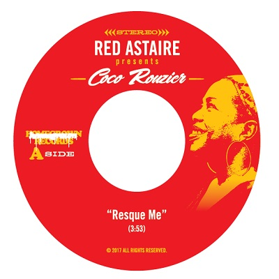 """Red Astaire/RESQUE ME (Coco Rouzier) 7"""""""