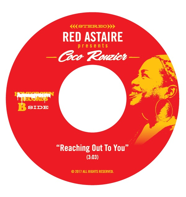 """Red Astaire/RESQUE ME LTD. RED VINYL 7"""""""