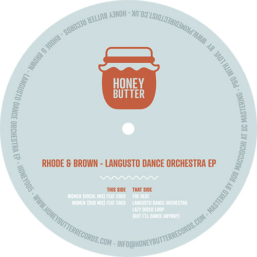 Rhode & Brown/LANGUSTO DANCE ORCH EP 12""