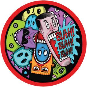 """Kevin Knapp/BLAH BLAH BLAH 12"""""""