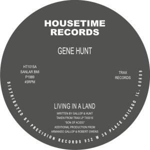 Gene Hunt/LIVING IN A LAND 12""