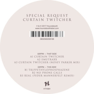 Special Request/CURTAIN TWITCHER EP 12""