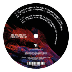 Second Storey/LUCID REWORKS EP 12""