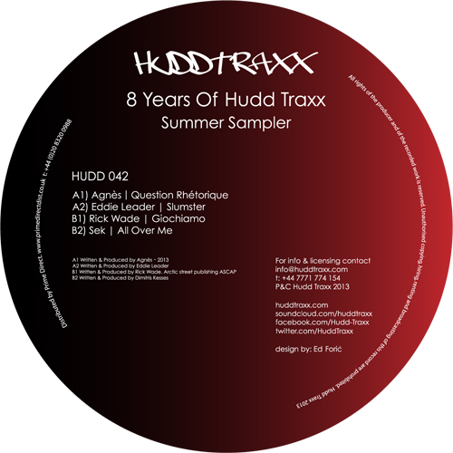 Various/8 YEARS OF HUDD TRAXX EP 12""