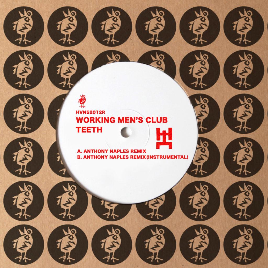 "Working Men's Club/TEETH (AN REMIX) 12"""
