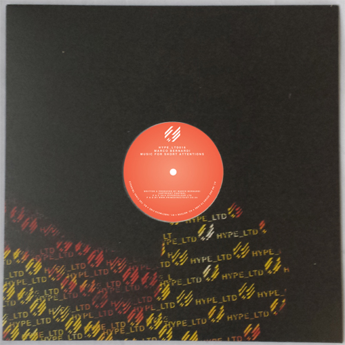 Marco Bernardi/MUSIC FOR SHORT... 12""