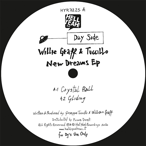 Willie Graff & Tuccillo/NEW DREAMS 12""
