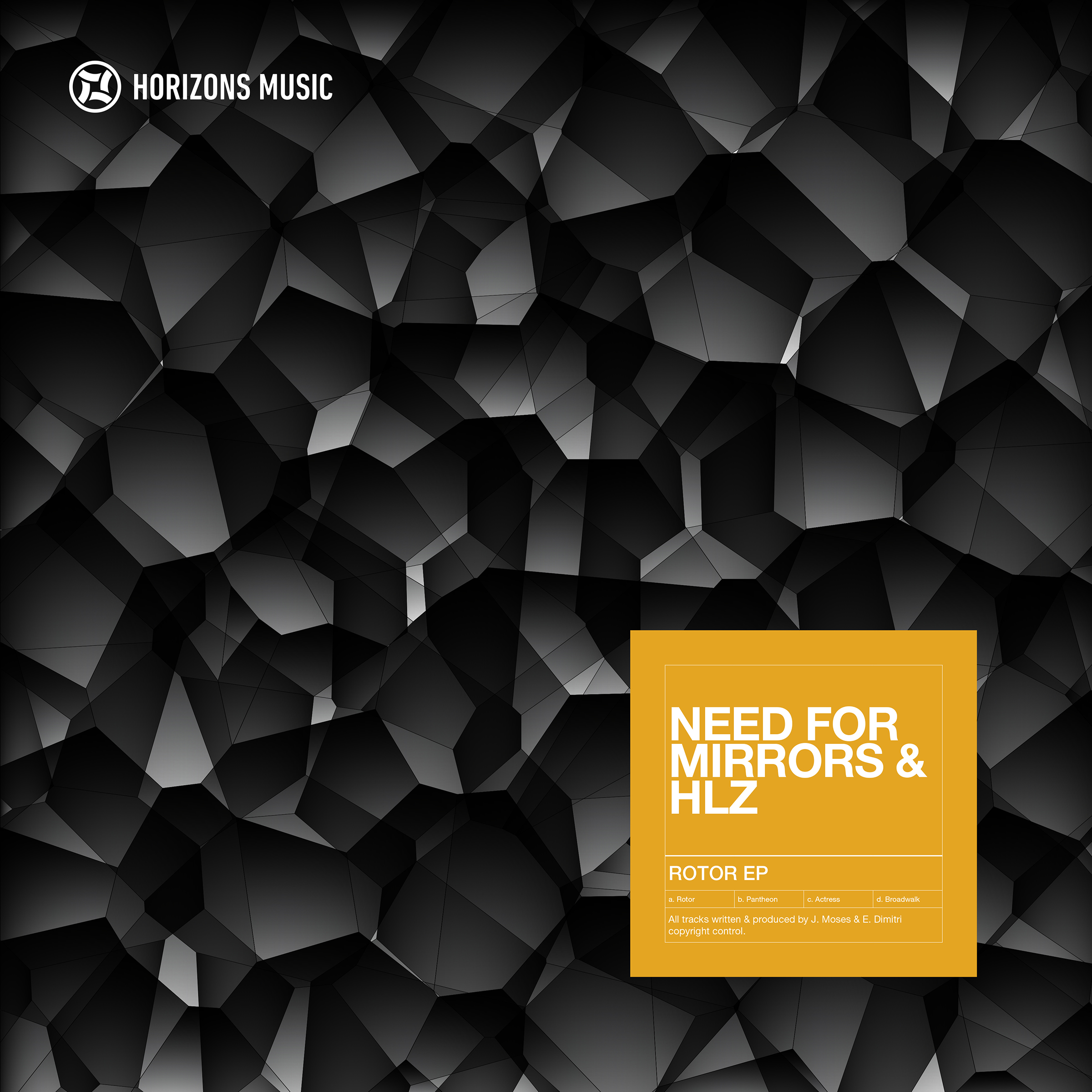 Need For Mirrors & HLZ/ROTOR EP D12""