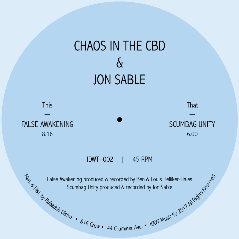 Chaos In The CBD/FALSE AWAKENING 12""