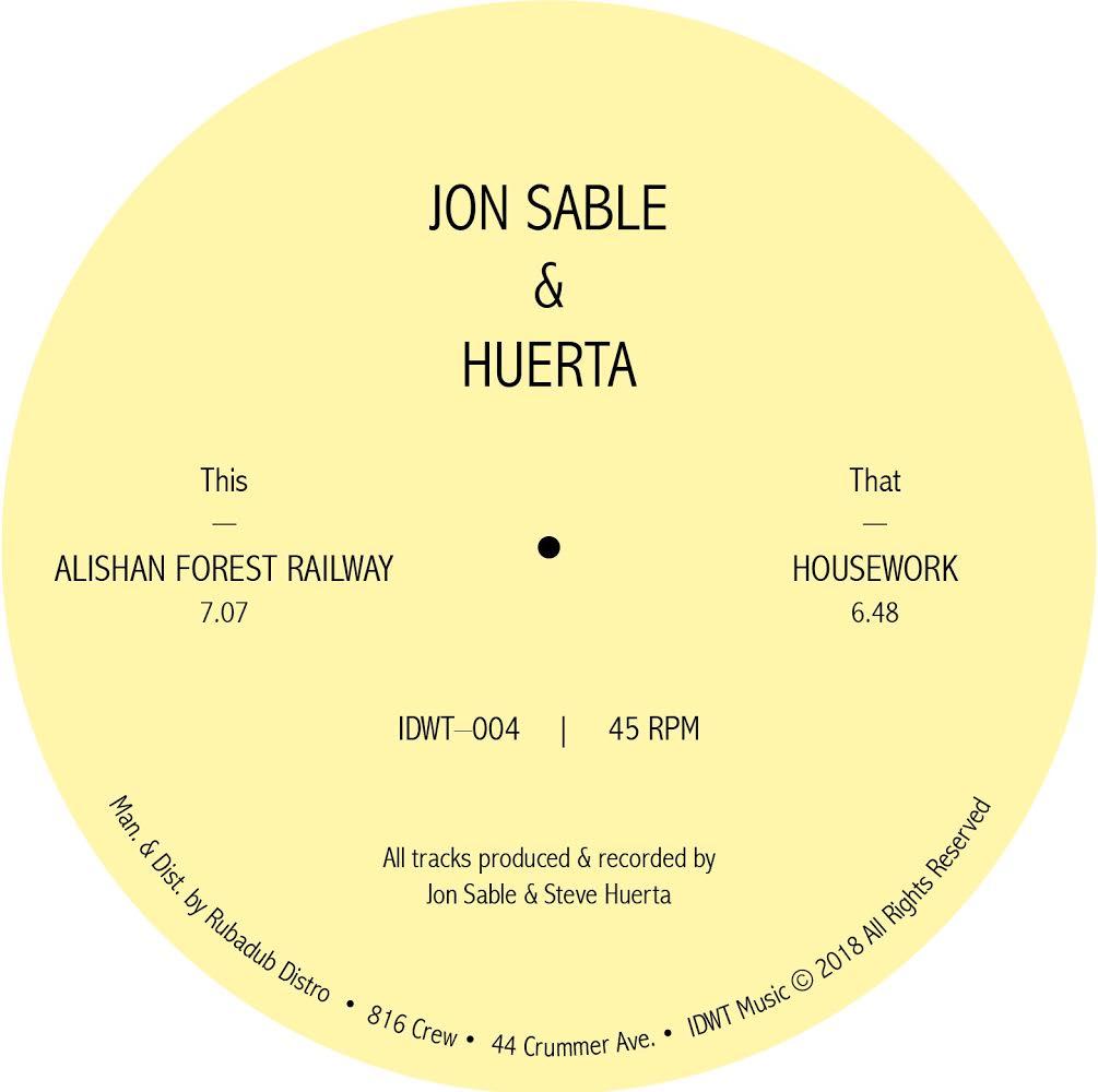 "Jon Sable & Huerta/ALISHAN FOREST... 12"""