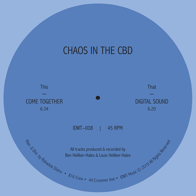 Chaos In The CBD/COME TOGETHER 12""