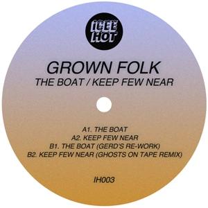 "Grown Folk/THE BOAT (GERD REMIX) 12"""