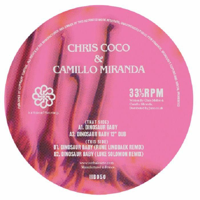 """Chris Coco/DINOSAUR BABY 12"""""""