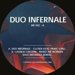 Duo Infernale vs Panic Girl/CLOSER 12""