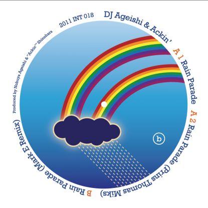 """DJ Ageishi & Ackin/RAIN PARADE 12"""""""