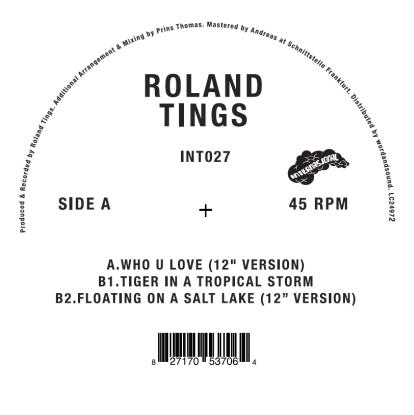"Roland Tings/WHO U LOVE 12"""