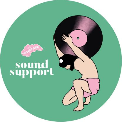 """Sound Support/STAB BY STAB EP 12"""""""